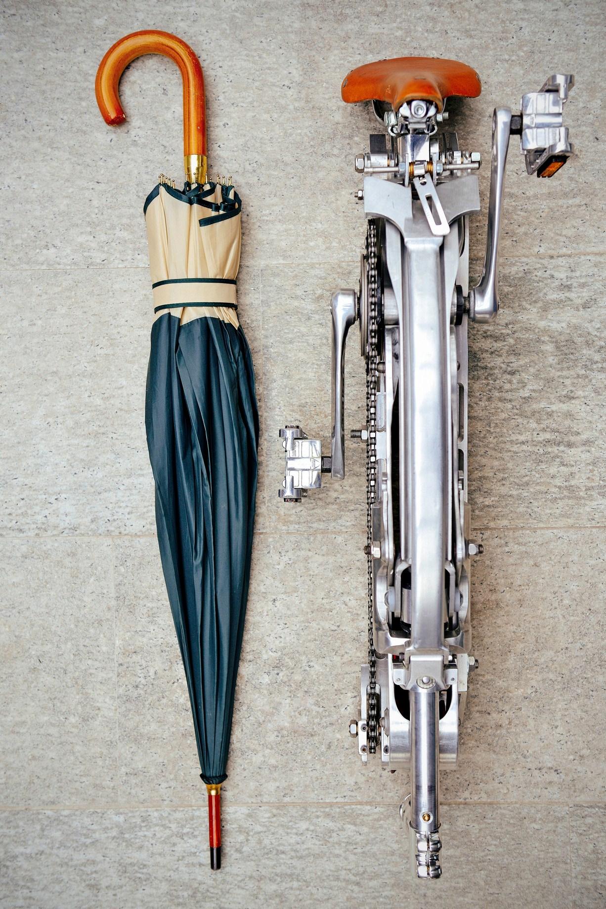 Gianluca Sada Bike Hubless And Foldable